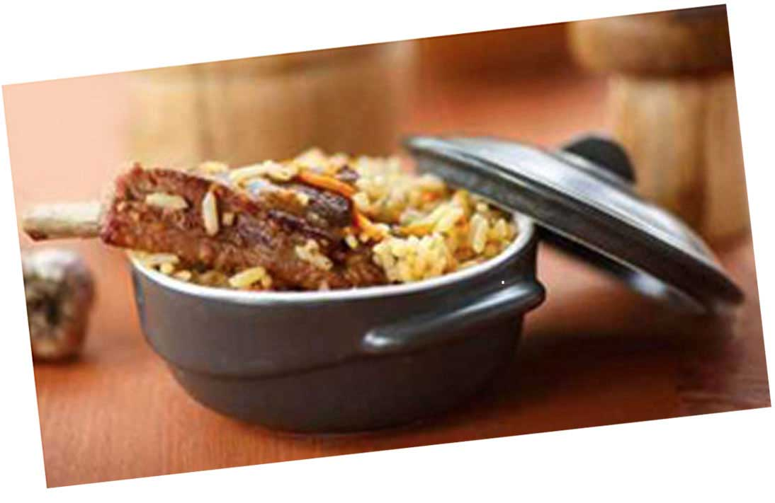 BBQ Ribs with Egg Fried Rice