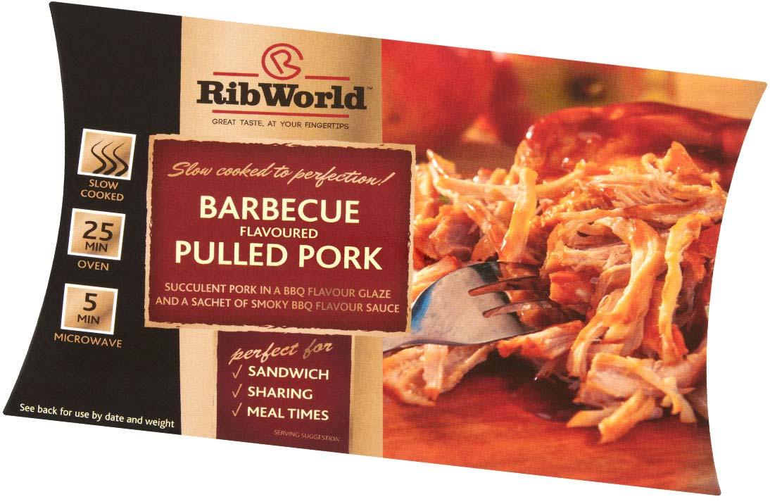 Pulled Pork & Beef Range